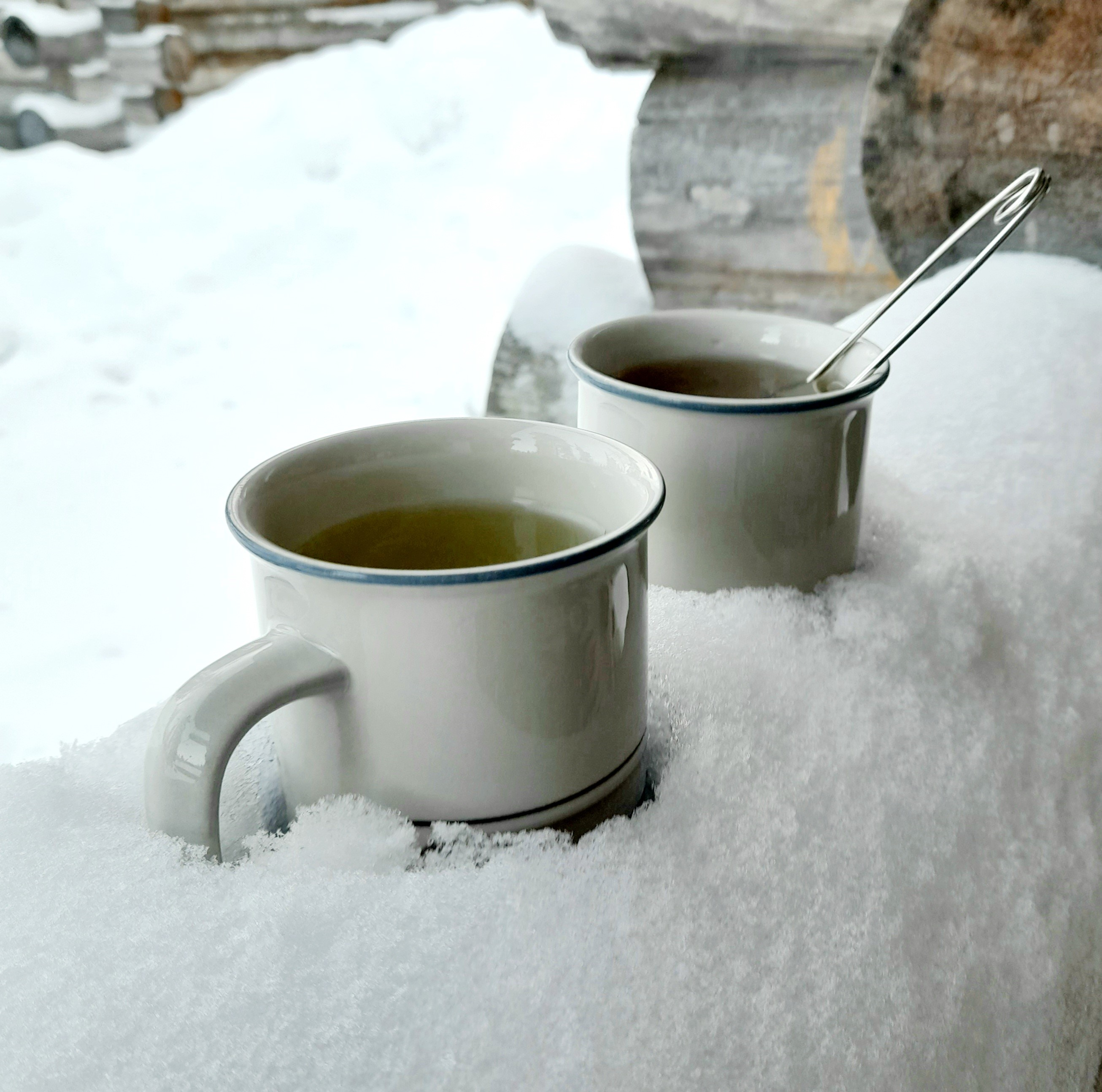 teetä tarjolla myös naapurille